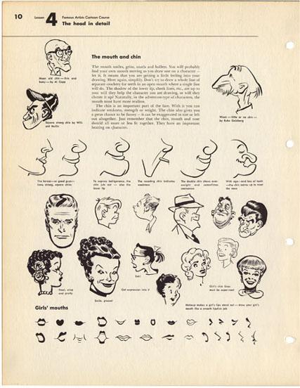 Cartooning Lessons | Doodlemeister's Weblog